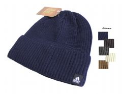 S19-HT6487 Thermal assorted colour unisex winter beanie hat